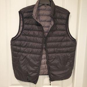 Puffer reversible down vest
